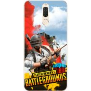 Силиконовый чехол Remax Huawei Mate 10 Lite PLAYERUNKNOWN'S BATTLEGROUNDS