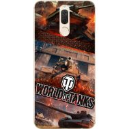 Силиконовый чехол Remax Huawei Mate 10 Lite World Of Tanks