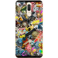 Силиконовый чехол Remax Huawei Mate 10 Lite CS:Go Stickerbombing