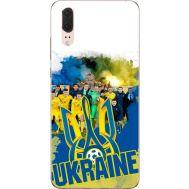 Силиконовый чехол Remax Huawei P20 Ukraine national team