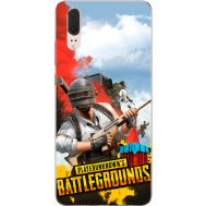 Силиконовый чехол Remax Huawei P20 PLAYERUNKNOWN'S BATTLEGROUNDS