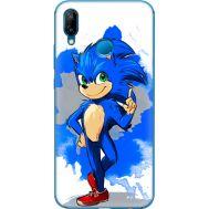 Силиконовый чехол Remax Huawei P20 Lite Sonic Blue