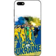 Силиконовый чехол Remax Huawei Y5 2018 Ukraine national team