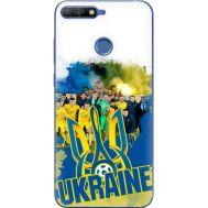 Силиконовый чехол Remax Huawei Y6 Prime 2018 / Honor 7A Pro Ukraine national team