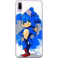 Силиконовый чехол Remax Huawei Honor Play Sonic Blue