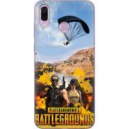Силиконовый чехол Remax Huawei Honor Play Pubg parachute