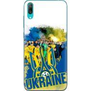 Силиконовый чехол Remax Huawei Y7 Pro 2019 Ukraine national team