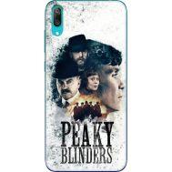 Силиконовый чехол Remax Huawei Y7 Pro 2019 Peaky Blinders Poster
