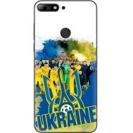 Силиконовый чехол Remax Huawei Y7 Prime 2018 Ukraine national team