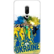 Силиконовый чехол Remax Meizu 15 Ukraine national team