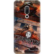 Силиконовый чехол Remax Meizu 15 World Of Tanks