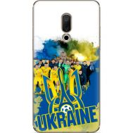 Силиконовый чехол Remax Meizu 15 Plus Ukraine national team