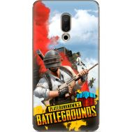 Силиконовый чехол Remax Meizu 15 Plus PLAYERUNKNOWN'S BATTLEGROUNDS