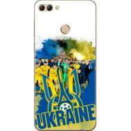 Силиконовый чехол Remax Huawei Y9 2018 Ukraine national team