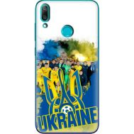 Силиконовый чехол Remax Huawei Y7 2019 Ukraine national team
