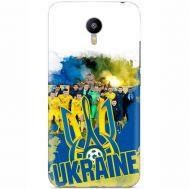 Силиконовый чехол Remax Meizu M2 Note Ukraine national team