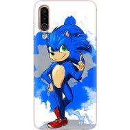 Силиконовый чехол Remax Meizu 16Xs Sonic Blue