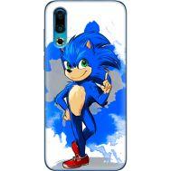Силиконовый чехол Remax Meizu 16s Sonic Blue