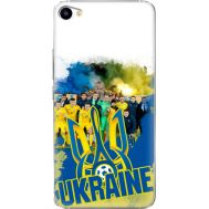Силиконовый чехол Remax Meizu U20 Ukraine national team