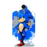 Силиконовый чехол Remax Meizu M3e Sonic Blue