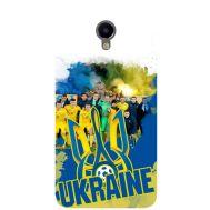 Силиконовый чехол Remax Meizu M3e Ukraine national team