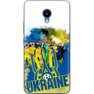 Силиконовый чехол Remax Meizu M5 Ukraine national team