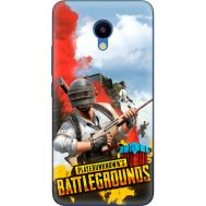 Силиконовый чехол Remax Meizu M5 PLAYERUNKNOWN'S BATTLEGROUNDS