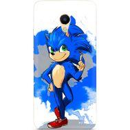 Силиконовый чехол Remax Meizu M5s Sonic Blue