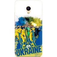 Силиконовый чехол Remax Meizu M5s Ukraine national team