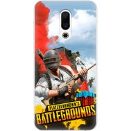 Силиконовый чехол Remax Meizu 16th PLAYERUNKNOWN'S BATTLEGROUNDS