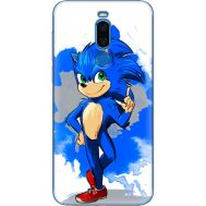 Силиконовый чехол Remax Meizu X8 Sonic Blue