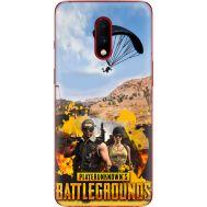Силиконовый чехол Remax OnePlus 7 Pubg parachute