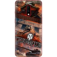 Силиконовый чехол Remax OnePlus 7 World Of Tanks