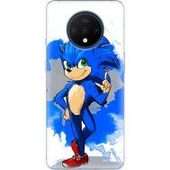 Силиконовый чехол Remax OnePlus 7T Sonic Blue