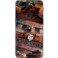 Силиконовый чехол Remax OnePlus 5T World Of Tanks