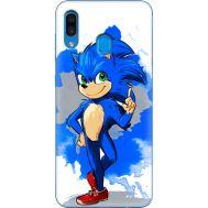 Силиконовый чехол Remax Samsung A305 Galaxy A30 Sonic Blue