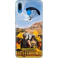 Силиконовый чехол Remax Samsung A305 Galaxy A30 Pubg parachute