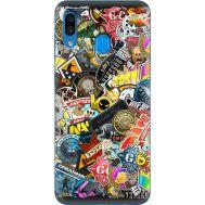 Силиконовый чехол Remax Samsung A305 Galaxy A30 CS:Go Stickerbombing
