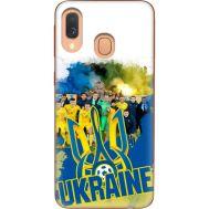 Силиконовый чехол Remax Samsung A405 Galaxy A40 Ukraine national team