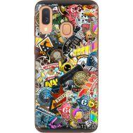 Силиконовый чехол Remax Samsung A405 Galaxy A40 CS:Go Stickerbombing