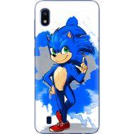 Силиконовый чехол Remax Samsung A105 Galaxy A10 Sonic Blue