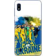 Силиконовый чехол Remax Samsung A105 Galaxy A10 Ukraine national team
