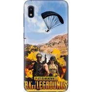 Силиконовый чехол Remax Samsung A105 Galaxy A10 Pubg parachute