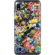Силиконовый чехол Remax Samsung A105 Galaxy A10 CS:Go Stickerbombing