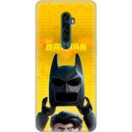 Силиконовый чехол Remax OPPO Reno2 Lego Batman