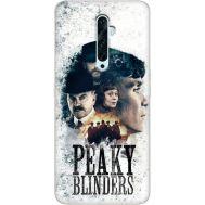 Силиконовый чехол Remax OPPO Reno2 Z Peaky Blinders Poster