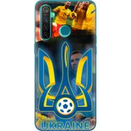 Силиконовый чехол Remax Realme 5 Pro UA national team