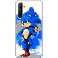 Силиконовый чехол Remax Realme XT Sonic Blue
