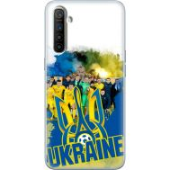 Силиконовый чехол Remax Realme XT Ukraine national team