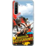 Силиконовый чехол Remax Realme XT PLAYERUNKNOWN'S BATTLEGROUNDS